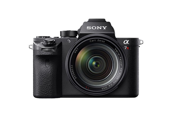 The Sony A7R Mark II. Photo courtesy Sony Electronics.