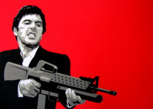 Tony Montana Illustration