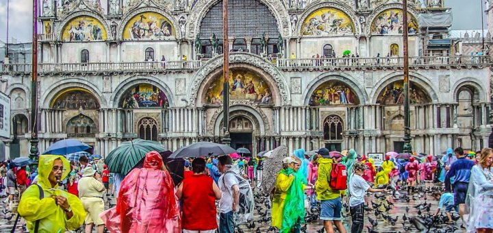 Venice under some bad weather